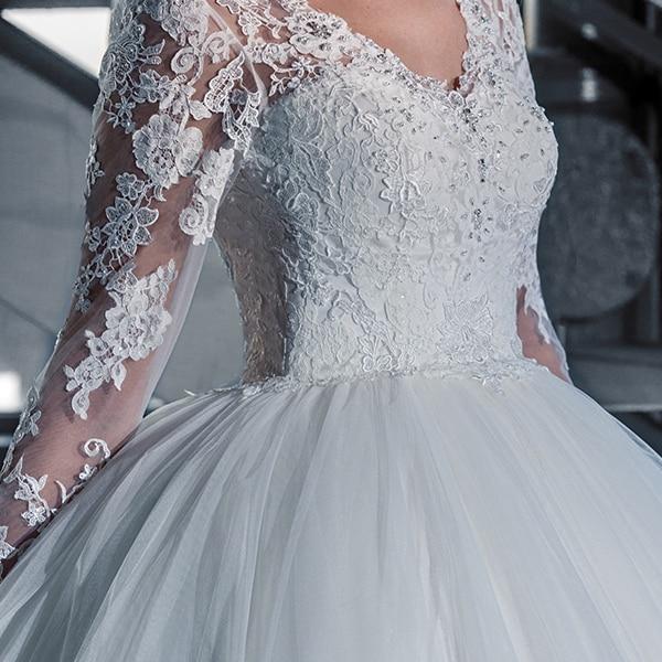 V Cou Sijane 0741 Manches Empire Simple Plein Mariée Robes Princesse Bal De Robe naAHwEtUAx