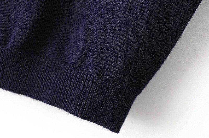 HTB1cl8dLXXXXXaqapXXq6xXFXXXw - Women Knitted Crop Tops O-neck Short Sleeve Sweaters Sexy Streetwear PTC 245