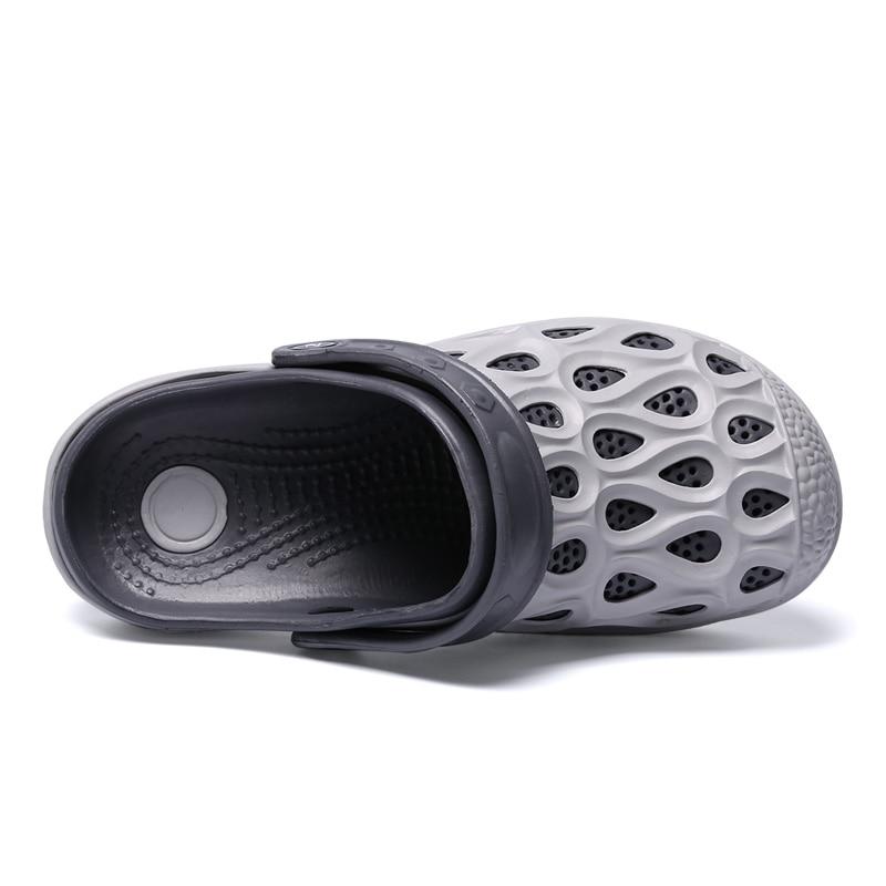 Aleader Лето Для мужчин Классические Крокус Сабо открытый удобные пляжные сандалии для Для мужчин большой Размеры бассейн вода душа Шлёпанцы д...