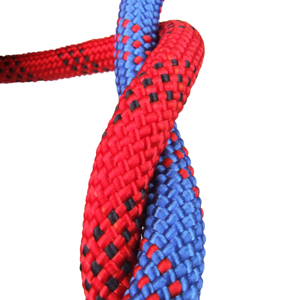 0.47'' 32.8ft Red Safety Outdoor Climbing Rescue Rope Cord + Camouflage Rope Storage Bag Case