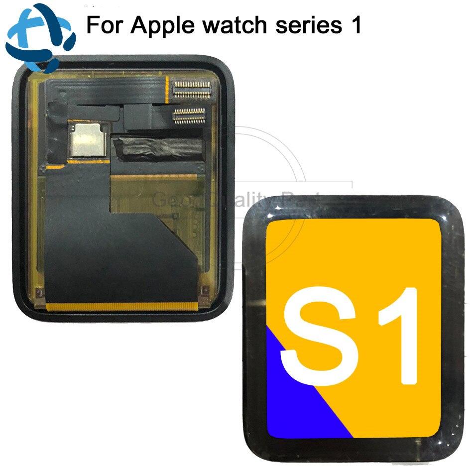 Pour Apple Watch Series 1 S1 Sport saphir LCD écran tactile 38/42mm numériseur assemblée verre trempé gratuit et outils