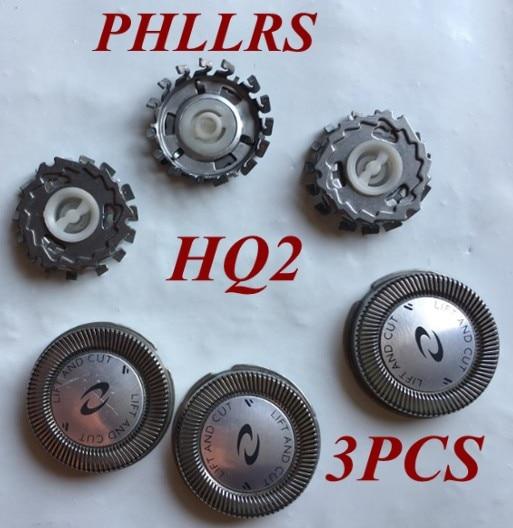 3 шт. HQ2 замена головки лезвия бритвы для philips Norelco электробритва HQ222 HQ240 HQ2405 HQ242 HQ2425 HQ26 HQ284 HQ223 HS100
