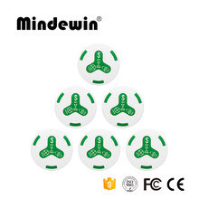 2017 Mindewin 433MHz Waterproof Waiter Call Button M-K-4 Restaurant Buzzers Transmitter Wireless Smart Bell Table Botones(China)