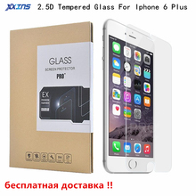 9H Ultrathin Tempered Glass Protective film For Iphone 6 Plus smartphone Screen Protector 5.5 inch film free shipping цена 2017