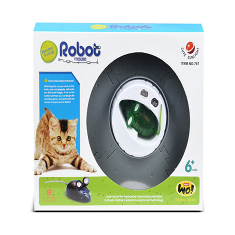 Funny 1PC Nano Colorful Electronic Pet Toys Robotic rat Children For Baby Toys Christmas gift