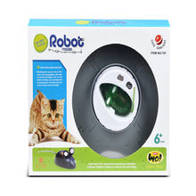 Funny 1PC Nano Colorful Electronic Pet Toys Robotic rat Children For Baby Toys Christmas gift(China)