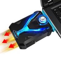 Охлаждающая подставка ICE COOREL для ноутбука  мощный светодиодный светильник для 12-17 дюймов