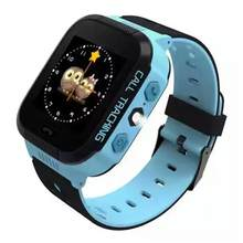 Children Kids GPS Smart Watch With Camera Flashlight Baby Watch SOS Call Location Device Tracker for Kid Safe(China)