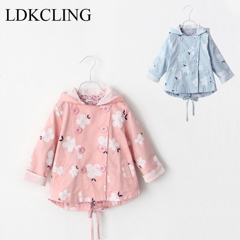 الخريف الشتاء الطفل بنات جاكيتات - ملابس الأطفال