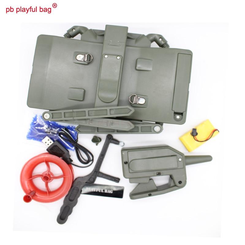 PB Ludique sac jouet gel boule blaster En Plein Air cs jeux électrique télécommande jouets bombe en plein air jeu livraison shippingT36