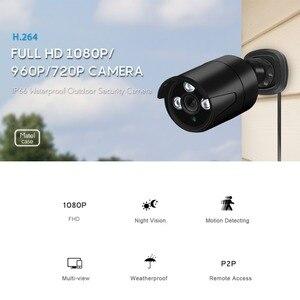 Image 2 - BESDER 1080/720p מלא HD IP מצלמה Bullet חיצוני עמיד למים אבטחת מצלמה ONVIF XMEye 20m ראיית לילה תנועה לזהות RTSP P2P