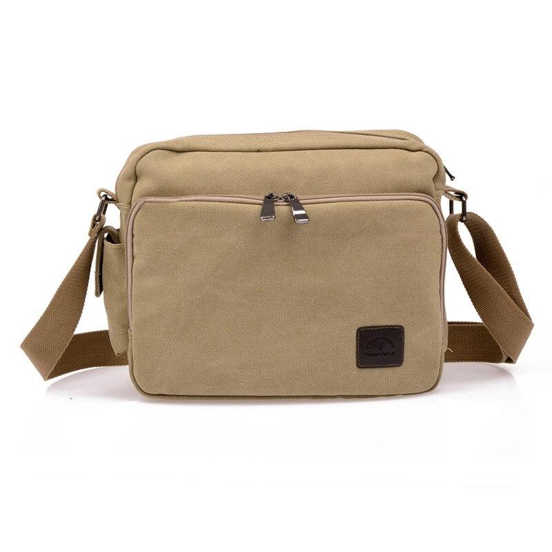 bolsa de lona bolsa masculina Mode : Men's Messenger Bags Crossbody Bags