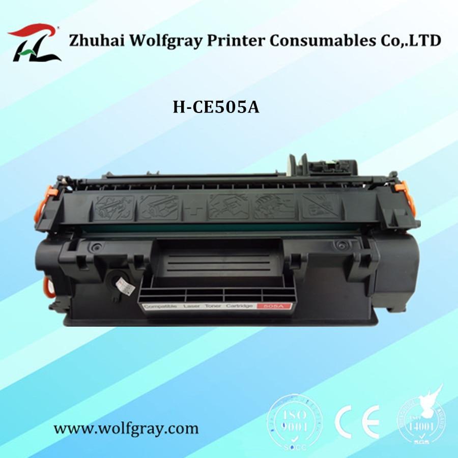 Kompatibel einfache refill tonerkartusche für HP CE505A LaserJet P2030 P2035 P2050 P2055n...