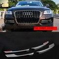 Автомобильный дизайн ABS CHROME передний и задний противотуманные фары КРЫШКА НАКЛАДКА Для Audi Q5 2013 2014 2015 2016 стайлинга автомобилей
