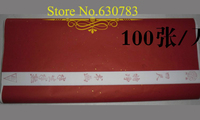 Newest Medium Rice Paper,hand made Chinese Xuan Paper for Artist, 100 Sheets 68*138cm Painting Papers,Free shipping