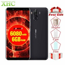 Ulefone Power 3 6 0 18 9 Full Screen Smartphone 6080mAh 6GB 64GB Octa Core Face