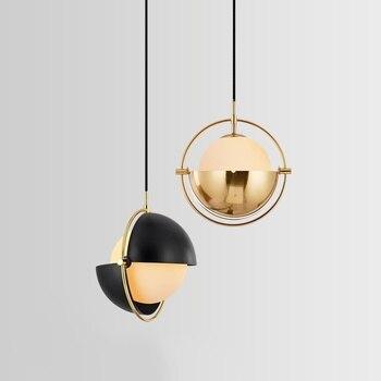 Poste moderne danisseur Design lampes suspendues luxe Restaurant salle à manger maison déco chevet chambre lampe suspension luminaires