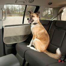 2 Pieces Outdoor Waterproof Oxford Rear Doors Protectors With Net Pockets  Cover Car Trucks Door Scratch Guard For Dogs Cat Pet