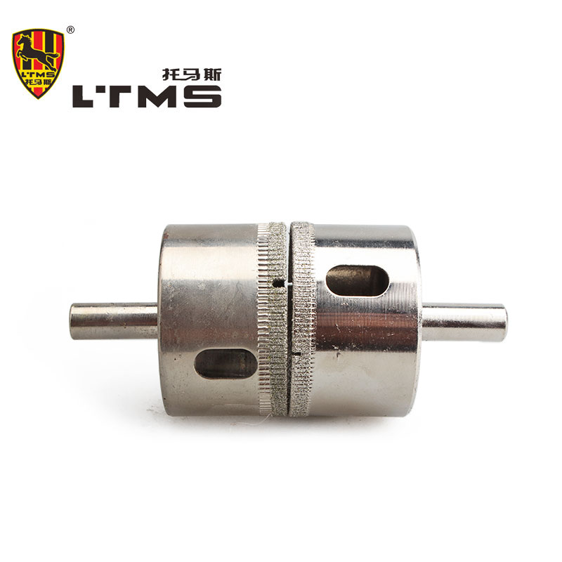 High Quality Drilling Opening Hardness Convenient Practical Advanced Material 50mm Glass Hole Drilling Power Hand  Tool Fitting  цены