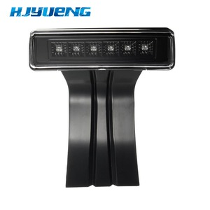 Image 2 - Hjyueng 15 ワット黒 6 ledリアテール 3rd ledブレーキライトブレーキエンブレムステッカーランプレッドジープラングラーjkスポーツ高度無制限