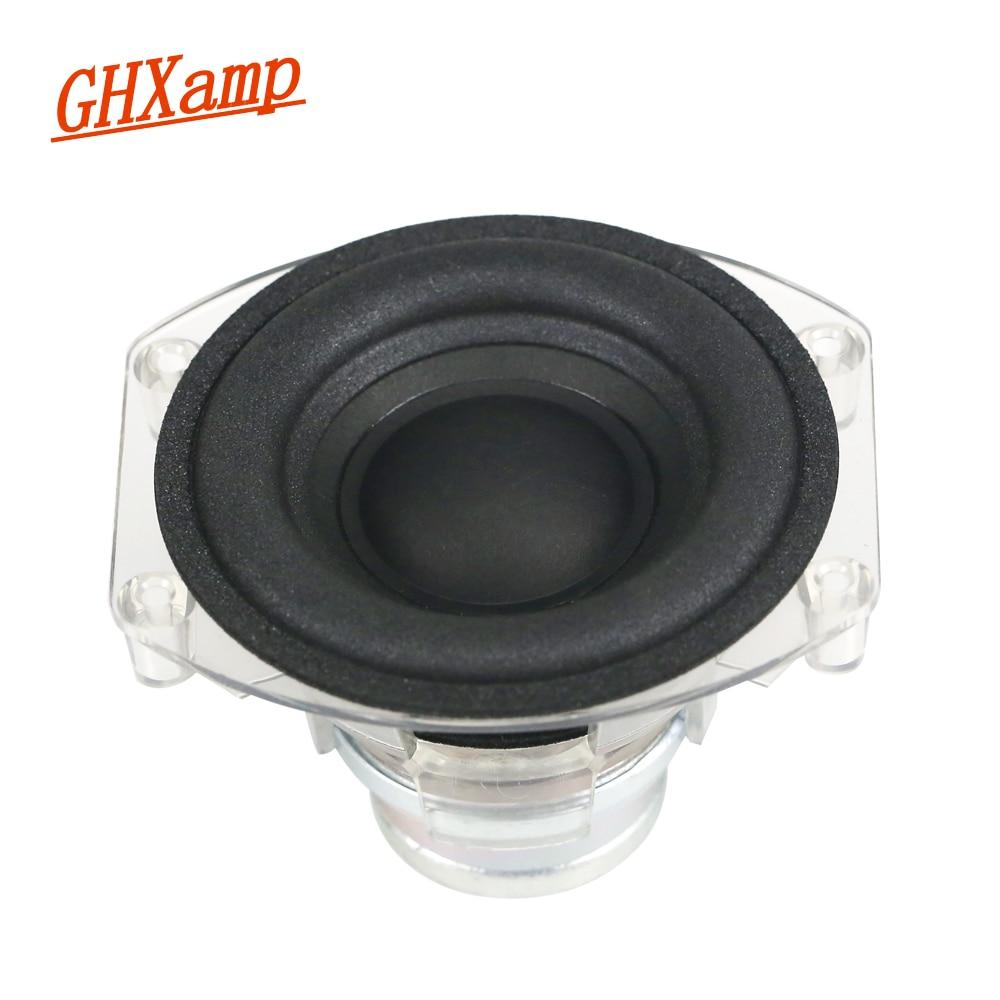 3 inch Protable Subwoofer Speaker 4OHM 30W Desktop Bluetooth Deep Bass Long-stroke Foam Neodymium Speaker For GO+PLAY Micro 1pcs