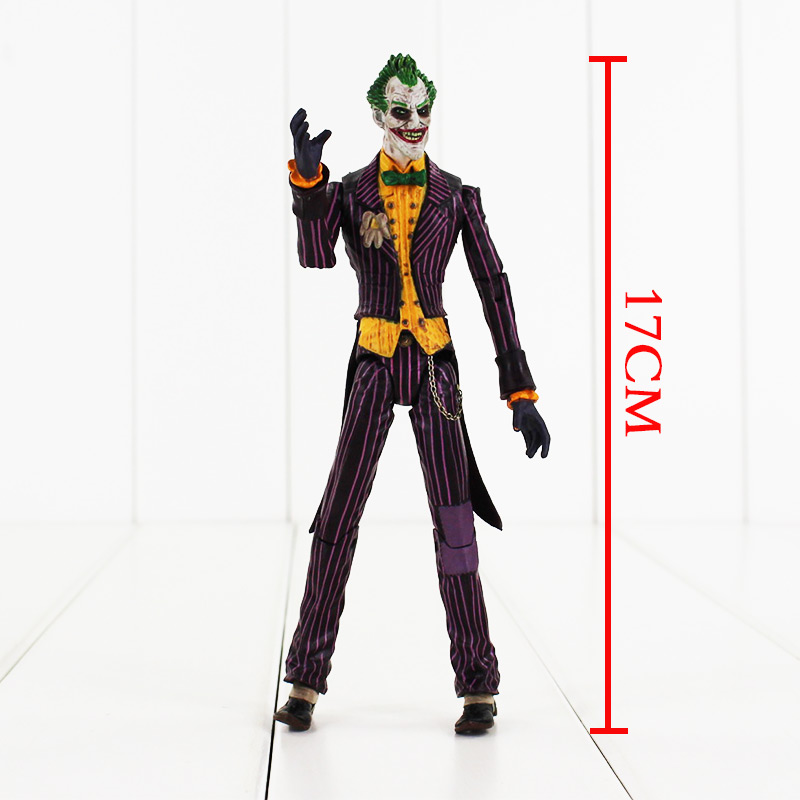 Batman The Joker PVC Action Figure joint movable Collection Model Toy Free Shipping