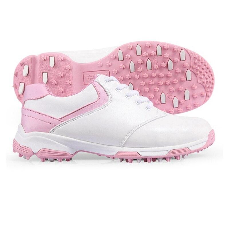 купить Brand PGM Adult Womens Ladies Girls Women Golf Sports Shoes Light & Breathable & Steady & Waterproof XZ049 по цене 3340.81 рублей