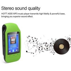 Image 5 - MP4 プレーヤーbluetoothとクリップポータブルスポーツMP4 音楽プレーヤー高品質ロスレスサポートpedoメートルfmラジオビデオプレーヤー