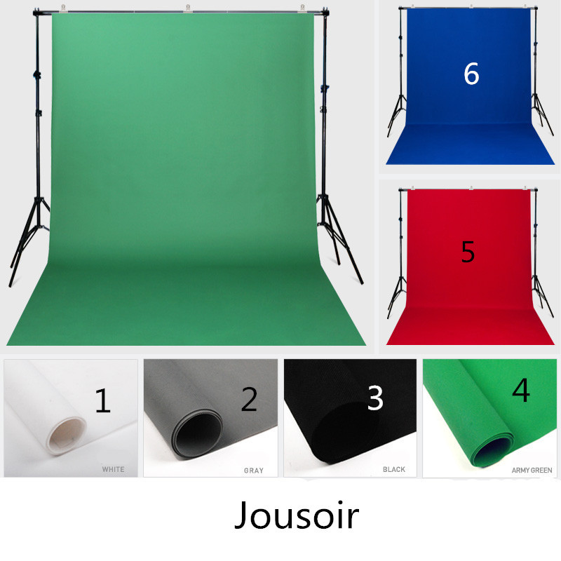 Photographique tapis en tissu solide couleur fond tissu non-tissé tissu caméra vert écran photo bleu et vert écran cd50