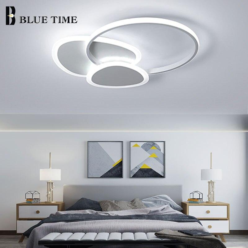 Nouveau Design mode LED lustres pour enfants salle à manger chambre salon café et blanc fini maison LED lustres