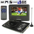 NS-789 7.0'' LCD Digital Multimedia Portable EVD / DVD Card Reader & USB Ports Analog TV (PAL / NTSC / SECAM) SD / MS / MMC Card