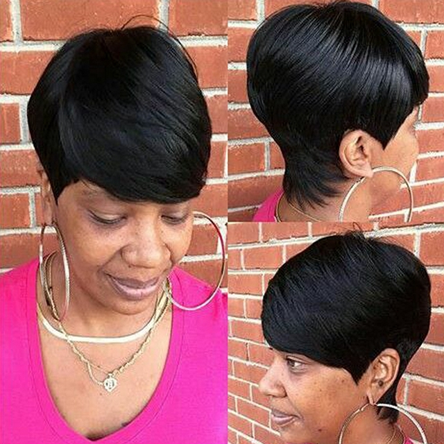 3pcslot 27 Pieces Short Hair Weave With Free Closure And Shower Cap