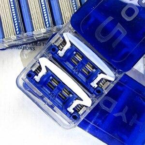 Image 5 - Сменные лезвия для бритвы Schick Original Hydro 5, 8 лезвий/партия, 2019, новая посылка, лучшая замена