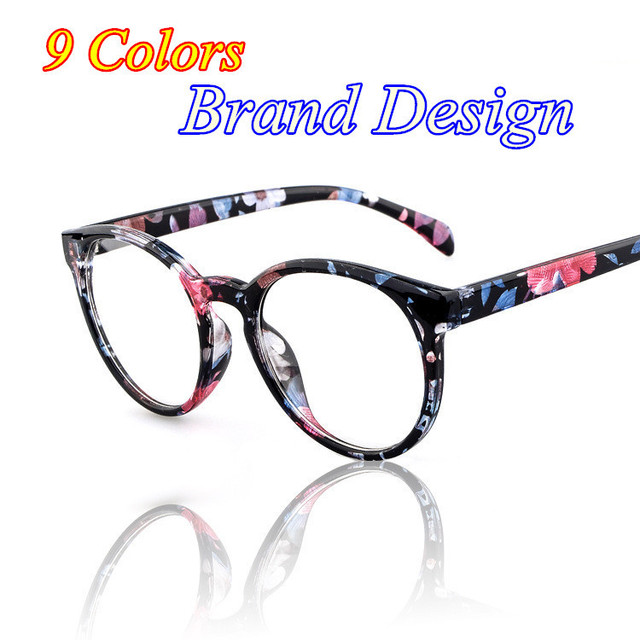 2016 Marca Diseño moda mujer grado espectáculo Marcos ojo Gafas ...