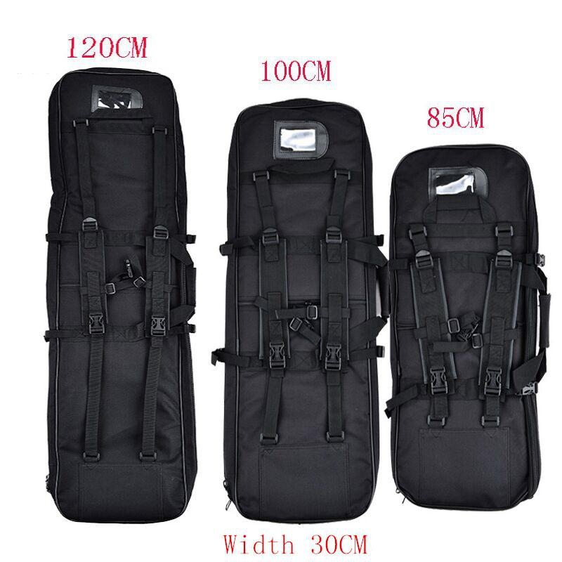 Outdoor Military 85CM 100CM 120CM Tactical Gun Bag Square Carry Gun Bag Hunting Rifle Gun Accessory Protection Case Backpack