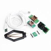 V6.5 MiniPro TL866CS Programmeur USB Universele Programmeur/Bios Programmeur 6 stks Adapter Gratis Verzending
