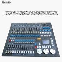1024 dmx контроллер для светодиодный Par движущаяся головка прожекторы сценическое оборудование для диджейского освещения