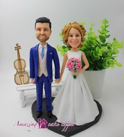 2019 AMAZING CAKE TOPPER Toys Wedding Birthday And Groom Gifts Ideas Customized Figurine Valentine's Day