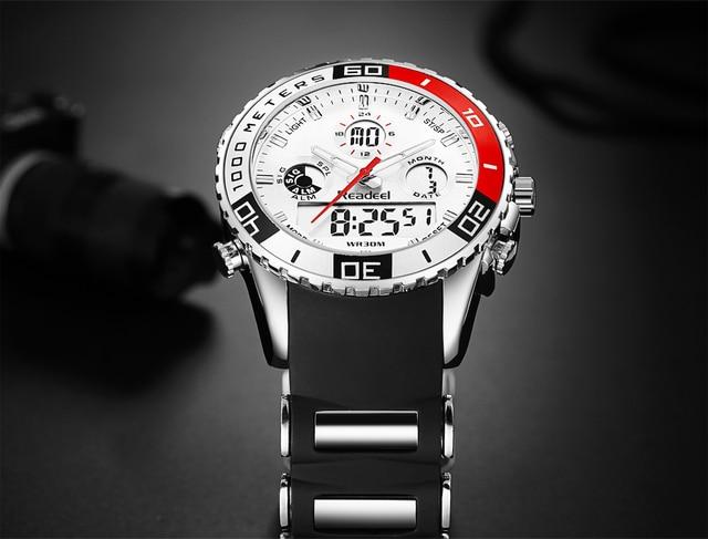 Sports Army Military Wrist Watch 8