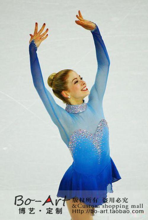 Vestido personalizado de patinaje artístico vestido de la - Ropa deportiva y accesorios