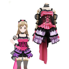 Hot Sale!!!Custom Made Cosplay Costume BanGDream!PoppinParty Arisa Ichigaya Cos Dress sweet and cute full sets