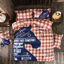 купить bedding Duvet Cover set 3/4 pcs Thicker soft comforter Cover Bedding set Striped Style Queen Full Twin size по цене 3703.36 рублей