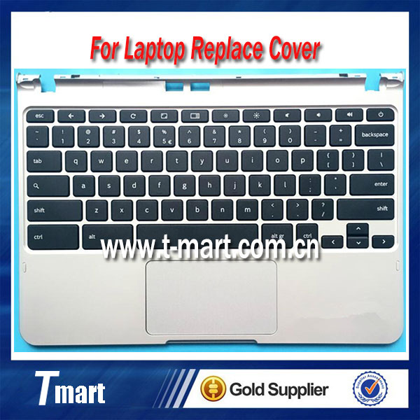 ФОТО Free shipping laptop upper cover C for samsung XE303C12 series laptop keyboard replace C shell Palmrest C Case