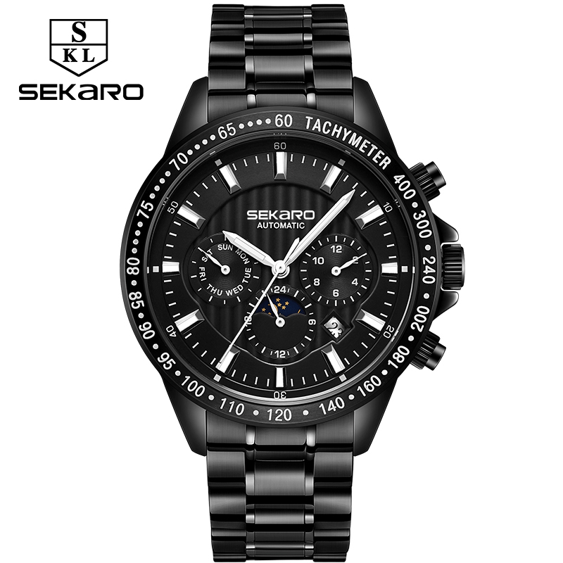 Sekaro  Top Luxury Brand Men Military Sport Watches Mens Mechanical Clock Waterproof Male WristWatch Relogio MasculionSekaro  Top Luxury Brand Men Military Sport Watches Mens Mechanical Clock Waterproof Male WristWatch Relogio Masculion
