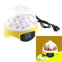 7 Egg Hatcher Digital Duck Poultry Temperature Control Automatic Incubator