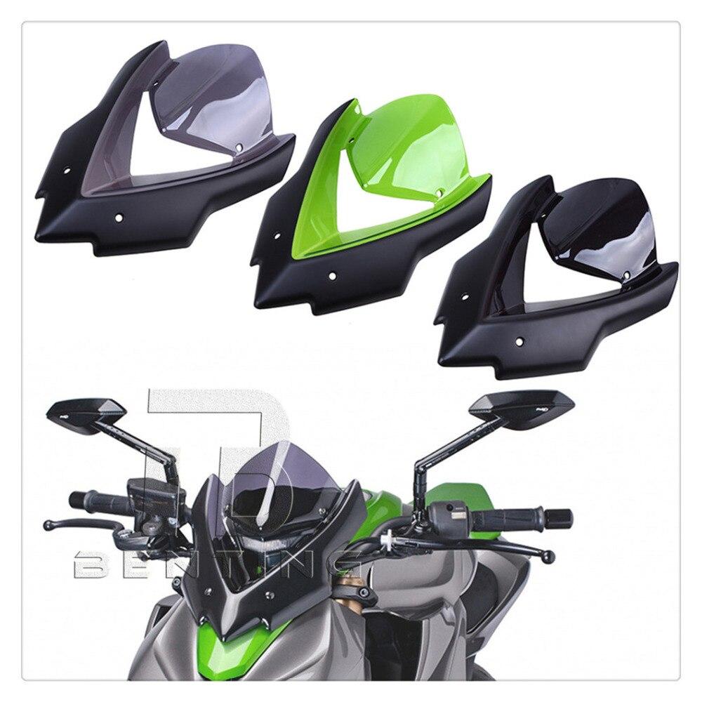 Motorcycle Windscreen Windshield Double Bubble Bicicleta For Kawasaki Z1000 2015 2016 z1000 Windscreen Motorcycle