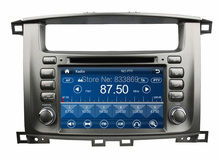 HD 2 din 7″ Car Radio DVD Player for Toyota Lander Cruiser 100 With GPS Navigation USB Bluetooth IPOD TV SWC AUX IN