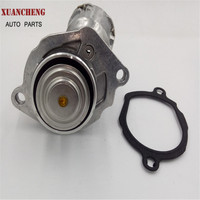 Engine Coolant Thermostat And Housing Assembly With Sensor Gasket For Mercedes Benz 2722000115