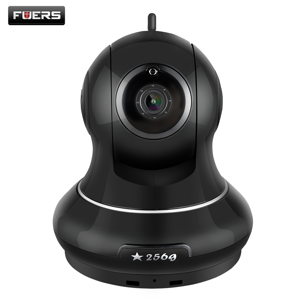 Fuers HD 1080P IP WIFI Camera Support 256GB Memory Card Home Surveillance Camera IR-Cut Wireless Baby Monitor with APP Control non standard die cut plastic combo cards die cut greeting card one big card with 3 mini key tag card