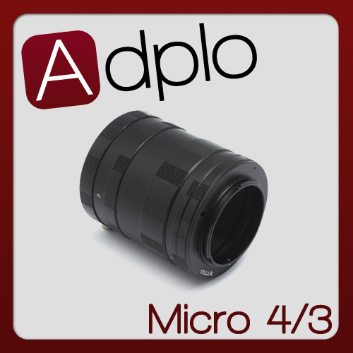 Pixco Macro Extension Tube Suit For Micro 4/3 m43 GX1 GF3 G6 GH3 E-PL5 E-PL3 E-PM2 E-PL2 Camera